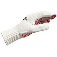 Wurth Polyamide/cotton Coarse-knit Glove - PROTGLOV-KNIT-WHITE-SZ10 Ref. 0899400030