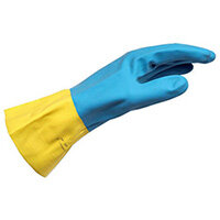 Wurth Chemical Protective Glove made from chloroprene and Latex - PROTGLOV-CHEM-NEOPRENE/LATEX-SZ8 Ref. 089943581