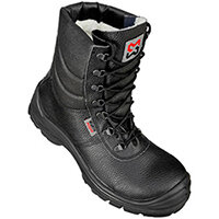 Wurth AS S3 Winter Safety Boots - Boot LineD AS S3 Black 45 Ref. M022080045