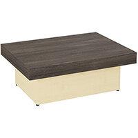 Auttica 800mm Coffee Table with Dublin Oak Top & Maple Base