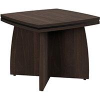 Oskar Square Coffee Table Dark Walnut