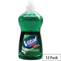 Vital Fresh Washing Up Liquid 500ml Pack of 12 WX00215
