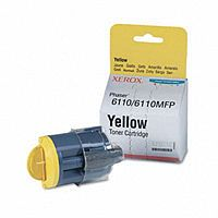 Xerox 106R01273 Yellow Toner Cartridge for Phaser 6110