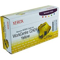 Xerox C2424 Solid Ink Stick Yellow Pk 3 108R00662