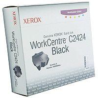 Xerox C2424 Solid Ink Stick Black Pk 6 108R00664