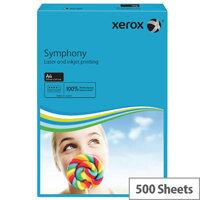 Xerox Symphony A4 80gsm Dark Blue Coloured Copier Paper Pack 500 003R93959