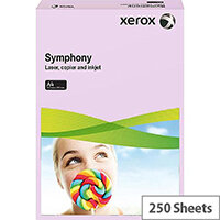 Xerox Symphony Medium Lilac A4 Card Paper 160gsm Pack of 250