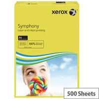 Dark Yellow A4 80gsm Paper Xerox Symphony