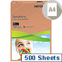 Orange A4 80gsm Paper Pack of 500 Xerox Symphony
