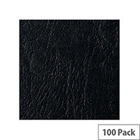 Acco GBC Binding Cover A5 Black Pack of 100 4400017