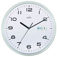 Acctim Supervisor Wallclock 320Mm Chr/Wh
