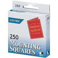 Photo Album Company Adhesive Mounting Squares Pack 250