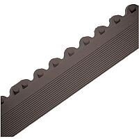 All-Purpose Anti-Fatigue Modular Mat Male Bevel Black 312410
