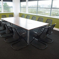 Amazon Project Phase 1 Boardroom & Meeting Room Fitout By Huntoffice Interiors