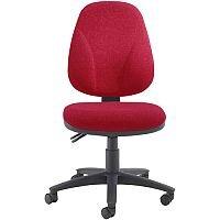 Arista Concept High Back Asynchro Tilt Operators Chair Claret KF03462