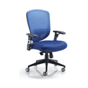 Arista Mesh High Back Task Chair Blue KF72243