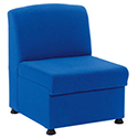Arista Modular Reception Chair Blue KF03489