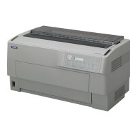 Epson DFX 9000N - Printer - monochrome - dot-matrix - 419.1 mm (width) - 240 x 144 dpi - 9 pin - up to 1550 char/sec - parallel, USB, LAN, serial