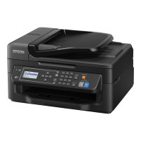 Epson WorkForce WF-2630WF - Multifunction printer - colour - ink-jet - A4/Legal (media) - up to 34 ppm (printing) - 100 sheets - 33.6 Kbps - USB 2.0, Wi-Fi(n)