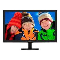 """Philips V-line 273V5LHAB LED Computer Monitor - 27"""" - 1920 x 1080 Full HD (1080p) - HDMI, DVI-D, VGA - Speakers, Colour: Black"""