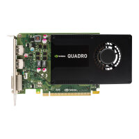 NVIDIA Quadro K2200 - Graphics card - Quadro K2200 - 4 GB GDDR5 - PCIe 2.0 x16 - DVI, 2 x DisplayPort - promo - for Workstation Z240 (MT, tower), Z440, Z640, Z840