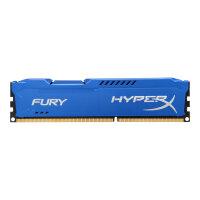 HyperX FURY - DDR3 - 8 GB - DIMM 240-pin - 1600 MHz / PC3-12800 - CL10 - 1.5 V - unbuffered - non-ECC - blue
