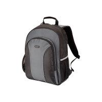 "Targus Essential 15.4 - 16 inch / 39.1 - 40.6cm Laptop Backpack - Notebook carrying backpack - 16"" - grey, black"