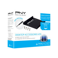 "PNY Desktop Accessories Kit - Storage bay adapter - 3.5"" to 2.5"""