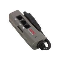 APC SurgeArrest Notebook Pro - Surge protector - AC 230 V - output connectors: 1 - silver