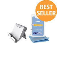 NewStar Universal Tablet and Smartphone Stand (including Cleaning Kit) - Accessory kit - white