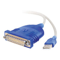 C2G USB To Serial DB25 Adapter Cable - Serial adapter - USB - RS-232