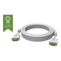 Vision Techconnect - VGA cable - HD-15 (M) to HD-15 (M) - 5 m - white