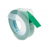 DYMO - Self-adhesive - green - Roll (0.9 cm x 3 m) 1 roll(s) 3D embossing tape - for DYMO Junior embosser