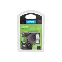 DYMO D1 - Polyester - permanent adhesive - black on white - Roll (1.2 cm x 5.5 m) 1 roll(s) label tape - for LabelMANAGER 160, 210D, 210D Kit, 210D Kit Case, 280, 360D, 420P, 420P Kit, 500TS, PnP