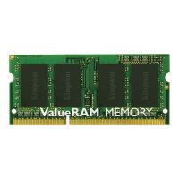Kingston ValueRAM - DDR3L - 2 GB - SO-DIMM 204-pin - 1600 MHz / PC3L-12800 - CL11 - 1.35 V - unbuffered - non-ECC