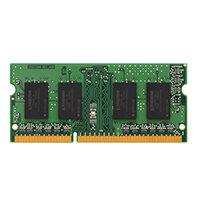 Kingston ValueRAM - DDR3 - 4 GB - SO-DIMM 204-pin - 1333 MHz / PC3-10600 - CL9 - 1.5 V - unbuffered - non-ECC