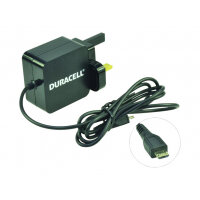 Duracell - Power adapter - 2.4 A (Micro-USB Type B) - black - United Kingdom