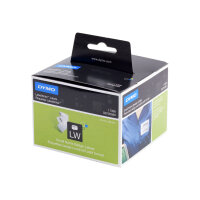 DYMO LabelWriter - White - 89 x 41 mm 300 label(s) (1 roll(s) x 300) name badge labels - for DYMO LabelWriter