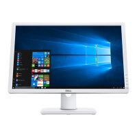"Dell UltraSharp U2412M - LED Computer Monitor - 24"" (24"" viewable) - 1920 x 1200 - IPS - 300 cd/m² - 1000:1 - 8 ms - DVI-D, VGA, DisplayPort - white"