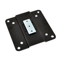 """Ergotron StyleView Rear VESA Mount Kit - Mounting component (adapter plate) for LCD display - metal - black - screen size: up to 22"""""""