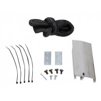 Ergotron SV Mounting Bracket Kit - Cart upgrade kit for portable battery - medical