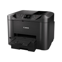 Canon MAXIFY MB5455 - Multifunction printer - colour - ink-jet - A4 (210 x 297 mm), Legal (216 x 356 mm) (original) - A4/Legal (media) - up to 22 ppm (copying) - up to 24 ipm (printing) - 500 sheets - 33.6 Kbps - USB 2.0, LAN, Wi-Fi(n), USB host
