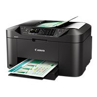 Canon MAXIFY MB2155 - Multifunction printer - colour - ink-jet - A4 (210 x 297 mm), Legal (216 x 356 mm) (original) - A4/Legal (media) - up to 18 ppm (copying) - up to 19 ipm (printing) - 250 sheets - 33.6 Kbps - USB 2.0, Wi-Fi(n), USB host