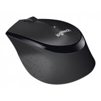 Logitech B330 Silent Plus - Mouse - optical - 3 buttons - wireless - 2.4 GHz - USB wireless receiver