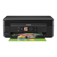 Epson Expression Home XP-342 - Multifunction printer - colour - ink-jet - A4/Legal (media) - up to 33 ppm (printing) - 100 sheets - USB, Wi-Fi - black