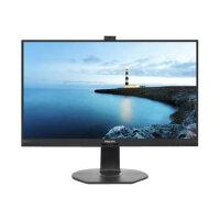 "Philips Brilliance B-line 272B7QPTKEB - LED monitor - 27"" - 2560 x 1440 - IPS - 350 cd/m² - 1000:1 - 5 ms - HDMI, VGA, DisplayPort, Mini DisplayPort - speakers - textured black"