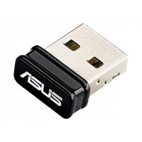 ASUS USB-N10 NANO - Network adapter - USB 2.0 - 802.11b, 802.11g, 802.11n