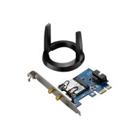 ASUS PCE-AC55BT - Network adapter - PCIe low profile - 802.11b, 802.11a, 802.11g, 802.11n, Bluetooth 4.0, 802.11ac, Bluetooth 4.0 LE