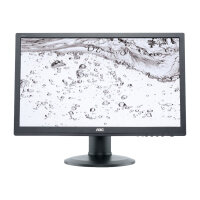 "AOC Pro-line M2060PWQ - LED Computer Monitor - 19.53"" - 1920 x 1080 Full HD (1080p) - MVA - 250 cd/m² - 3000:1 - 5 ms - VGA, DisplayPort - speakers - black"