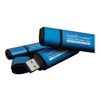 Kingston DataTraveler Vault Privacy 3.0 - USB flash drive - encrypted - 16 GB - USB 3.0
